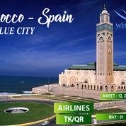 Paket 10 Hari Morocco Plus Blue City Dan Spanyol (19037275) di Kota Jakarta Pusat