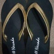 Sandal Wedges Hitam