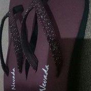 Sandal Wedges Merah