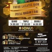 Paket Umroh Ramadhan Lailatul Qadr 15 Hari (19056339) di Kota Jakarta Pusat