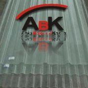 Atap Spandek Fiber Transparan + Jasa Pemasangan (Harga Sendiri)