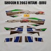 Striping Shogun R 2003 Hitam - Biru (19058391) di Kota Jambi