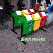 Tong Sampah Kotak 40 Liter Gandeng 3 In 1 (19072863) di Kota Bekasi