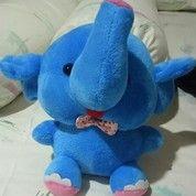 Boneka Gajah Duduk