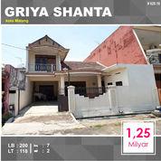 Rumah Murah 2 Lantai Di Griya Shanta Suhat Kota Malang _ 620.18