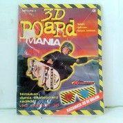 Buku 3D Board. Ania Bonus Kacamata 3D Di Dalam