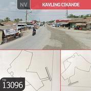 Kavling Cikande, Rangkas Bitung, 52.500 M, SHM (19154915) di Kab. Lebak