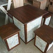 Meja Santai Kotak Antik Alami (19170239) di Kota Jakarta Timur