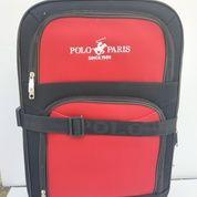 Harga Promo Travel Bag / Koper Polo Kanvas Roda4