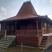 Pendopo Joglo Kayu Jati Ukir Tumpangsari Sokoguru20cm, Rumah Joglo Adat Jawa Dinding Gebyok Ukiran (19179891) di Kota Denpasar