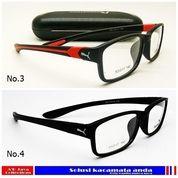 Promo Frame Kacamata Puma Sporty GRATIS Lensa Minus, Plus, Lensa Anti Radiasi, Kacamata Minus (19194783) di Kota Bogor