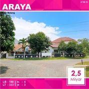 Rumah Hook Luas 333 Di PBI Araya Kota Malang _ 158.19