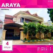 Rumah Bagus Luas 250 Di PBI Araya Kota Malang _ 173.19