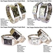 Jam Tangan Couple Rantai Import High Quality (19285067) di Kota Tasikmalaya