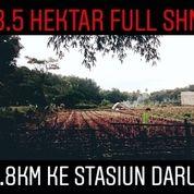 8.5Ha Full SHM 1.8Km Ke Stasiun Daru Kab Tangerang (19295819) di Kab. Tangerang
