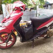 Motor Mio Sporty 2011, Warna Merah (19299623) di Kab. Nias Barat