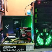 PC Gaming AMD A6 7400K Garansi 1 Thn