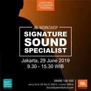 JBL Signature Sound Specialist.