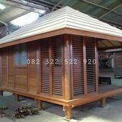 Rumah Gladak Kayu Jati/Kelapa, Rumah Kayu Panggung Minimalis Homestay/Resto