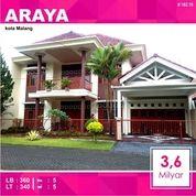 Rumah 2 Lantai Luas 340 Di PBI Araya Kota Malang _ 182.19