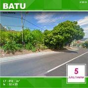 Tanah Poros Jalan Luas 812 Di Punten Selecta Kota Batu Malang _ 185.19 (19425143) di Kota Malang