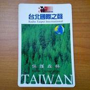Sticker Radio Taipei International Forest Conservation