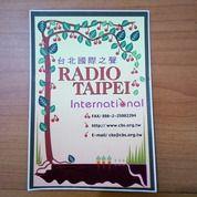 Sticker Radio Taipei International (19484107) di Kab. Bandung Barat