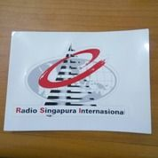 Sticker Radio Singapura Internasional