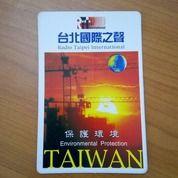 Stiker Radio Taipei International Environmental Protection