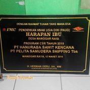 Jasa Pembuatan Prasasti Peresmian (19505143) di Kota Palembang