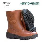 Kualitas SNI Sepatu Safety Boot Handymen Kulit Asli Tahan Minyak Grosir Dan Eceran