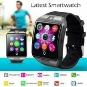Smartwatch/Smart Watch Phone Original Q18 Bisa Telpon Dan Sms Led Capacitive Touch Screen