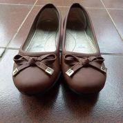 Flat Shoes Coklat (19528383) di Kota Depok