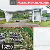 Kavling Inika Island, BSD, Tangerang, 288 M, PPJB (19565251) di Kota Tangerang Selatan