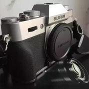Mirrorless Fujifilm XT10 / XT-10 Body + Kit 15-50mm Silver + BONUS (19570135) di Kota Depok