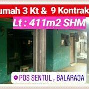 Rumah Dan 9 Kontrakan Di Balaraja Kab Tangerang Banten (19571059) di Kab. Tangerang