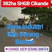 Tanah Cikande 382Ha Zona Industri Kab Serang Propinsi Banten (19583387) di Kab. Serang