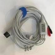 Kabel EKG 3 Leads Compatible Untuk Mindray Goldway (19613431) di Kota Jakarta Barat