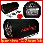 T101BT Speaker Subwoofer Advance Bluetooth Karaoke Radio T101 BT (19649043) di Kota Surakarta