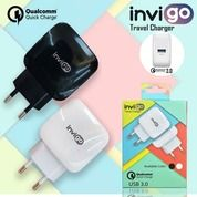 Travel Charger Invigo 3.0 A FAST CHARGING Qualcomm