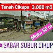 Tanah Cikupa 3.000m2 Depan Sabar Subur Kab Tangerang Banten (19660247) di Kab. Tangerang