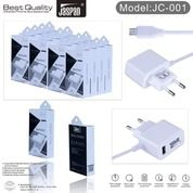 Charger Jaspan + USB 2.1A Best Quality For Micro Android