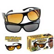 Kacamata HD Vision(1box Isi 2)/Kacamata Anti Silau Siang Dan Malam