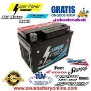 Aki Zeus GTZ5S Untuk Motor Honda Beat + Vario + Scoopy + Spacy