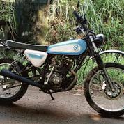 Motor Custom Tracker TVS Max 125 (19704607) di Kota Jakarta Selatan