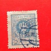 Perangko Poczta Polska 20 Groszy Stamps