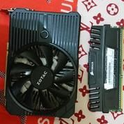 RAM DDR3 4GB Corsair + VGA Nvidia 1050 Ti Single Fan (19726799) di Kota Surabaya