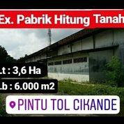 Pabrik Depan Pt. Nikomas Gemilang Cikande Kab Serang Banten (19731351) di Kab. Serang
