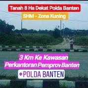 Tanah 8 Ha SHM Dekat Polda Banten Kota Serang (19748691) di Kota Serang