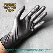 Sarung Tangan Karet Sintetis Hitam Bagus Dan Kuat/Untuk Bubber Shop/Mentato Dll (19759783) di Kab. Bekasi